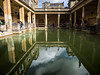 Roman Baths (Feldore) Tags: bath roman archaeology spa water pool england english architecture ancient hot spring feldore mchugh em1 olympus 1240mm reflection swimming somerset classical columns