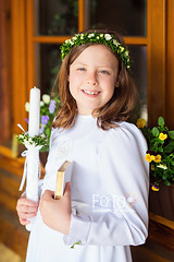 First communion photoshoot (aniadudek) Tags: child girl communion
