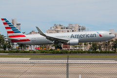 N394AN (Hector A Rivera Valentin) Tags: american airlines boeing767 boeing 767300 767323 er wl sju tjsj airport san juan puerto rico