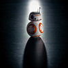 BB8 and its shadow (gerlos) Tags: robot closeup starwars droid anyvision darkness macrophotography computerwallpaper stilllifephotography labels