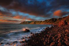 Palliser Bay Coastline (Jos Buurmans) Tags: bay capepalliser coastallandscape coastline evening landscape nature newzealand ngawi northisland palliserbay seascape southwairarapa sunset wairarapa wellington nz