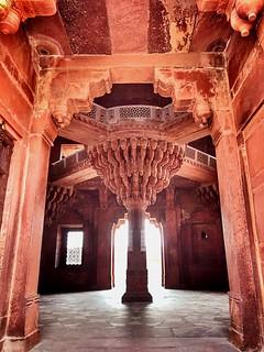 Parliament building - 16th century Fatehpur Sikri, deserted city, Uttar Pradesh