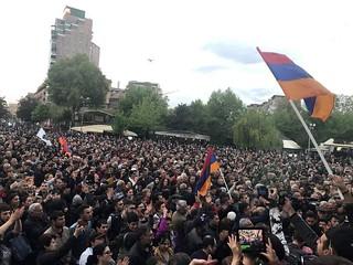 Armenian demonstrators