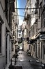 Corfu street (pav65) Tags: narrowstreet oldtiwn street cobblestone pigeon laundry alley alleyway streetview greece corfu