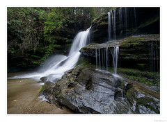 Early Spring at Martin Creek Falls (John Cothron) Tags: 15mm americansouth bartramtrail cpl canoneos5dmkiv carlzeiss clayton cothronphotography distagon1528ze dixie galandscapephotography georgia georgialandscapephotography georgiaphotographer johncothron martincreek martincreekfalls rabuncounty southatlanticstates southernregion thesouth us usa usaphotography unitedstatesofamerica warwomandellwildlifemanagementarea zeissdistagont2815mmze afternoonlight circularpolarizingfilter clouds cloudyweather falling flowing forest hiking landscape mineral nature outdoor outside quartz rock rockformations scenic spring water waterfall 254435d4180407co492018 ©johncothron2018 earlyspringatmartincreekfalls