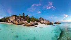 - #gotoSeychelles !!! - (Frog 974) Tags: seychelles granite rose rocher plage la digue anse source dargent coucherdesoleil paradis paradisiaque île ngc