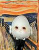 The Silent Scream (bentwhisker) Tags: doll bjd resin anthro egg soom neoangelregion thescream painting art edvardmunch 6105