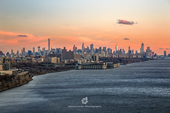 New York City at Sunset from George Washington Bridge (fesign) Tags: 2018 americanculture architecture awe builtstructure business businessfinanceandindustry cityscape dusk famousplace georgewashingtonbridge horizontal internationallandmark manhattannewyorkcity manhattanfinancialdistrict midatlanticusa newyorkcity newyorkstate outdoors panorama photography riverhudson riverbank skyline sunset travel traveldestinations usa water