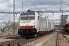 BLS Re 186 103 + 186 106 Pratteln (BL) (daveymills31294) Tags: bls re 186 103 106 pratteln baureihe cargo traxx railpool
