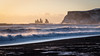 Reynisdrangar (Arnaud Grimaldi) Tags: sunset vík reynisdrangar iceland islande black sand beach wave reynisfjall mýrdal coucher de soleil