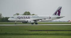Qatar airlines in BUD (Dreamaxjoe) Tags: airport budapest aeroplane