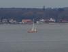 """Oceans of Hope"" in Öresund (frankmh) Tags: boat sailingboat oceansofhope denmark öresund hittarp sweden"