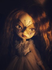 Eeeep! She's here! I'm in love!! (_danie11e_) Tags: dollinmind dimdimdolltrishahybridazoneredheaddollsweet