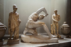 Statue eines persischen Kriegers (Markus Wollny) Tags: city vatikan rom cittàdelvaticano vatikanstadt it