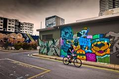 Austin Lane:  Urban Art, Darwin (Shane Bartie) Tags: austin lane darwin graffiti urban art tagging tag shanebartie