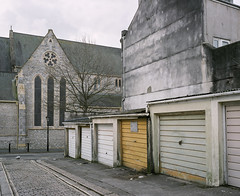 Cathedral Close #4 (@davidflem) Tags: plymouth devon mamiya7 65mm fujifilm fujipro400h 120film 6x7 mediumformat filmphotography istillshootfilm
