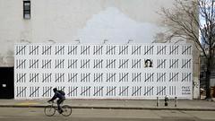 Banksy on Houston Street (joe holmes) Tags: banksy houstonstreet nyc newyorkcity bowery streetart mural zehradogan