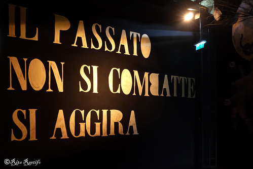 "Roma. Ex-mattatoio. Artwork by Madame Moustache for ""Heritage"", Outdoor Festival 2018, ""Total Recall"" path"