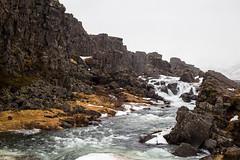 Öxarárfoss waterfall (Camino Estrada) Tags: öxarárfoss waterfall river cold winter iceland canon canon6d nature pure snow rock
