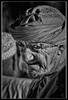 """Man of the Markets"" (flavius200) Tags: omam men bedu flavius200 dorking photocraft omani portrait camera club bedouin arabia desert sand scrub mountain mono monochrome black white nikon d200 wilfred thesiger desolate isolated uae 4x4 camping alone traveller exploring tribes david harford morning evening night market souk souq"
