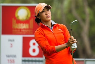Eun Jung Ji Kim of Spain during the second round