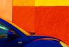 coccinelle indigo (woolgarphilippe) Tags: coccinelle beatle car coche voiture auto bleu couleurs blue indigo azul