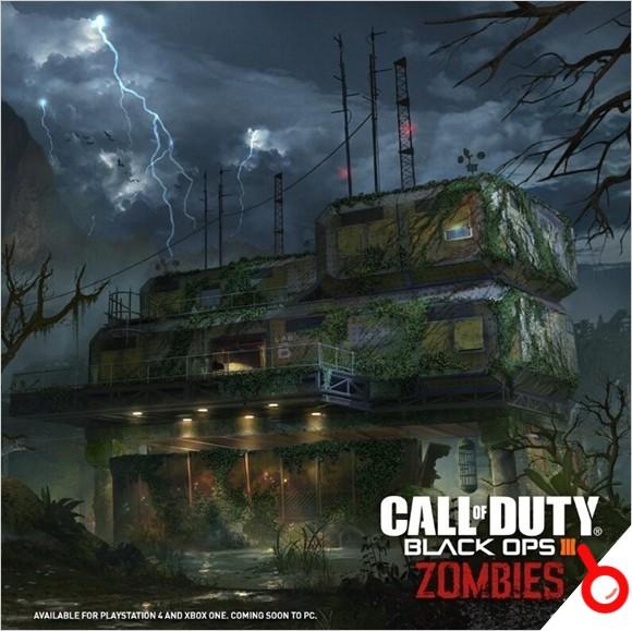 《使命召喚黑色行動3》殭屍地圖現可單獨購買