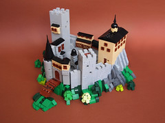Microcastle (Dwalin Forkbeard) Tags: lego moc microscale castle medieval contest