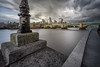 Dramatic Clouds over London (martin.matte) Tags: london europe cityscape longexposure sky clouds drama concrete buildings centre england uk thames river water architecture modern urban bankside southwark cityoflondon