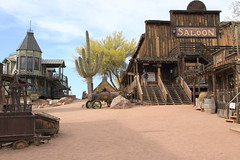 Goldfield Ghost-town (dorameulman) Tags: dorameulman arizona ghosttown goldfield wildwest haiku saloon cactus canon7dmark11 canon landscape streetscene
