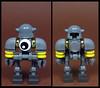 Tinny Twoface (Karf Oohlu) Tags: lego moc robot droid twoface scifi