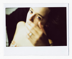 **** (ally.fane) Tags: analog analogue film filmphotography lareformat ishootfilm polaroid instax wide fujifilm color portrait toyo girlsonfilm