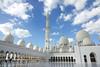 Sheikh Zayed Grand Mosque (geneward2) Tags: sheik zayed grand mosque abu dhabi white islam reflection religion worship minaret