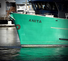 Boat Anita's Bow (chartan) Tags: workingboats bow boat ketchikan alaska
