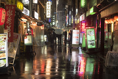 COLOR OF RAIN (ajpscs) Tags: ajpscs japan nippon 日本 japanese 東京 tokyo city people ニコン nikon d750 tokyostreetphotography streetphotography street seasonchange spring haru はる 春 2018 shitamachi night nightshot tokyonight nightphotography citylights omise 店 tokyoinsomnia nightview lights hikari 光 dayfadesandnightcomesalive alley othersideoftokyo strangers urbannight attheendoftheday urban walksoflife coldoutsidewarminside izakaya 居酒屋 taxiiswaiting taxi rain ame 雨 雨の日 whenitrains 傘 badweather whentheraincomes cityrain tokyorain wetnight rainynight rainingmen cantstoptherain pavement colorofrain