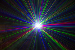 Light Fantastic (rmrayner) Tags: lightfantastic multicoloured laserbeams laser projector longexposure