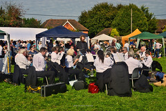 Pulborough Harvest Festival 2017 (James Raynard) Tags: pulborough harvest festival fair fete nikon d08 wideangle outdoor outdoors westsussex sussex band music silver brass westchiltington musicians