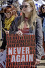 'Never Again' (Greatest Paka Photography) Tags: neveragain rally demonstration sign slogan student march sanfrancisco civiccenterplaza marchforourlives holocaust buchenwald