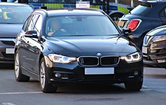 Unmarked Traffic Car (Ben Hopson) Tags: northumbria police new bmw drive xdrive 330d tourer unmarked traffic car grille lights undercover motor patrols estate automatic number plate recognition camera anpr 999 uk gb united kingdom great britain england 112 emergency service services vehicle vehicles
