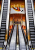 Batement d'Ailes (ANOZER Photograffist) Tags: paris france ladefense puteaux interior design staircase stair structure escalator escalier perspective architecture archi photography anozer anozercreation urban