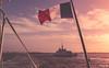 _DSF7028 - Crois en le croiseur croisé, il y avait de la houle ! (Jack-56) Tags: groix iledegroix france bretagne bateau drapeau