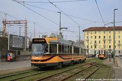ATM4945 (Davuz95) Tags: atm 4900 revamp tram milano serie nuova via mecenate 27 viale forlanini