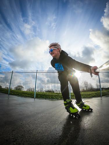 Skate- Gopro- Gopole-Fiona Madden