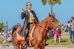 2018 St Augustine Easter Parade (James Kellogg's Photographs) Tags: easter parade st saint augustine johns county horses floats fire truck police cars wranglers jeeps clowns bike pirates bunny carrages flags army march girls gals chick canon trolly train armadillo cops