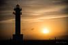 Lighthouse at sunset (rfabregat) Tags: marquesa far lighthouse platja beach mediterrani mediterranean delta deltadelebre deltebre fangar puntadelfangar sunset dusk sun sky nikon nikond750 d750 nikkor