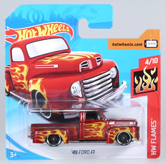 HOT-2018-085-Ford-F1-1949 (adrianz toyz) Tags: hot wheels diecast toy model car 2018 series pickup truck ford f1 1949 49 85 fjw63 stepside