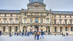 Pavillon Sully (albyn.davis) Tags: paris france europe travel louvre museum people panorama building architecture windows entrance