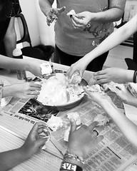 Skyline Easter Eggs 05 (C & R Driver-Burgess) Tags: school international asian western girls boy young women teens preteens children kids class small easter eggs decoration colourful shaving cream food colouring dye boiled play fun together tactile hands smiles teacher 儿子 老师 女儿 孩子 学生 鸡蛋 五颜六色 玩儿 外国人 笑 漂亮