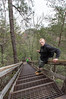 Tallulah Gorge stairs = leg day (RubyT (I come here for cameraderie!)) Tags: pentaxkp sigma1020 stairs staircase portrait pentaxart ginger redhead redhair tallulahgorge