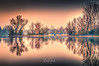 Still ruht der See nach dem Sonnenuntergang ... Wisseler See, Kalkar, Germany (nigel_xf) Tags: wisselersee wissel kreiskleve kalkar sonnenuntergang sunset spiegelung reflection reflexion reflektion trees bäume baum see lake lakewissel nikon nigel nigelxf d750 abendstimmung abenddämmerung vsfototeam